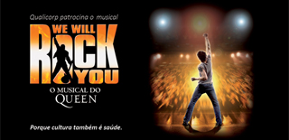 Qualicorp apoia musical We Will Rock You