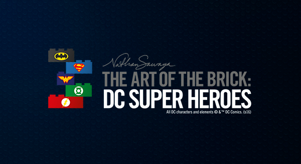 The art of the brick: DC Super Heroes