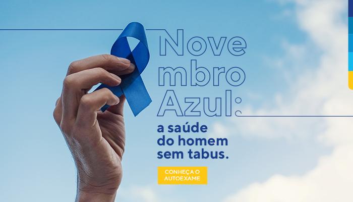 Novembro Azul: a saúde do homem sem tabus. Conheça o autoexame.