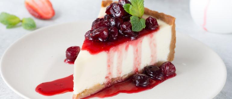 Receita para ceia de natal: cheesecake de frutas vermelhas sem açúcar – Qualicorp